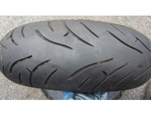 Píchlé Bridgestone 180/55 ZR17, DOT0818