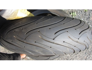 Píchlé Michelin 180/55 ZR17, DOT2617
